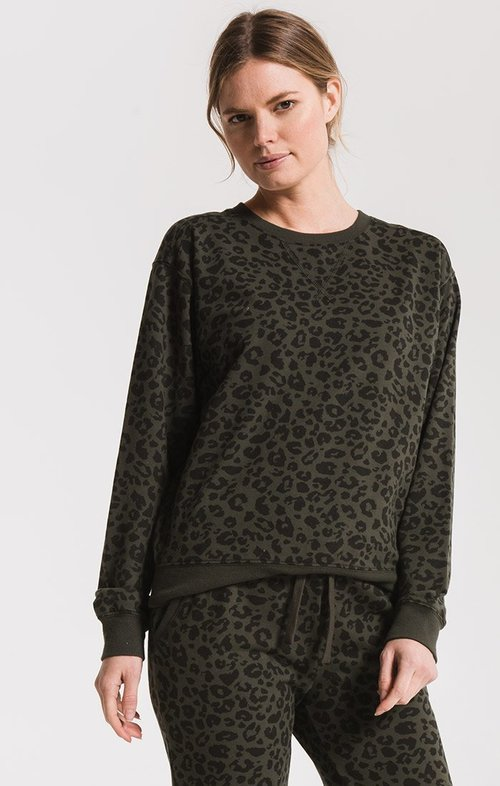 The Rosin Leopard Pullover