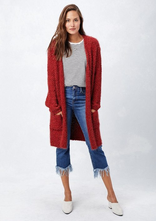 Long Cozy Cardigan