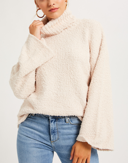 Snuggle Up Turtleneck Pullover Sweater