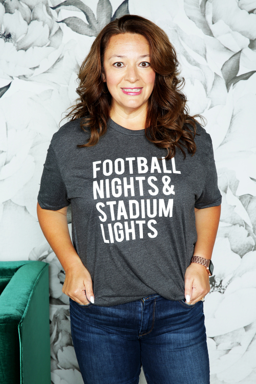 Football Nights Stadium Lights Shirt