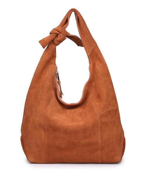 Emma Hobo Bag - Tan
