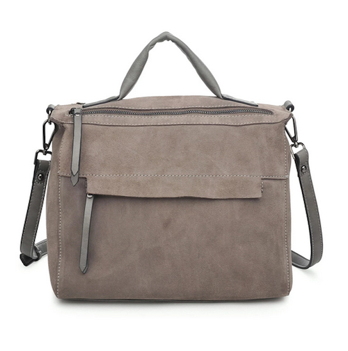 Harrison Satchel Bag - Grey