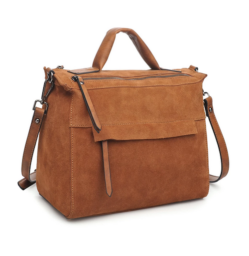 Harrison Satchel Bag - Tan