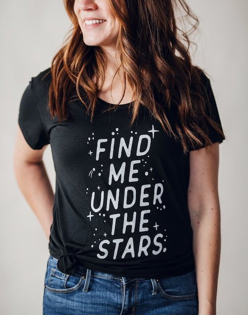 Under The Stars T Shirt