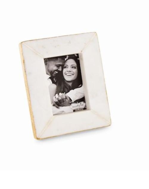 Rectangle Mini Gold Marble Frame