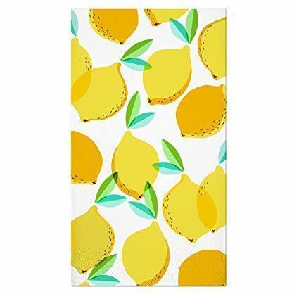 Guest Towel Lemon Napkins 16CT