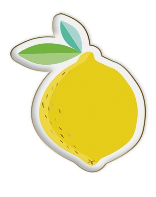 Lemon Shaped Trinket Tray