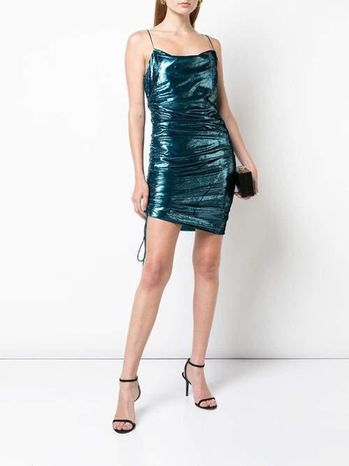 Shiny Astrid Dress