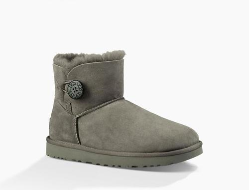 UGG W Mini Bailey Button II Grey