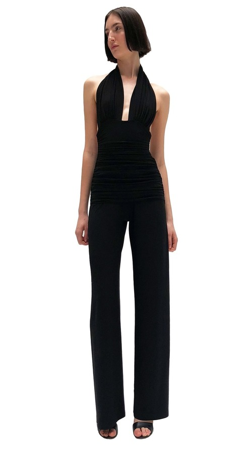 Halter Bill Jumpsuit