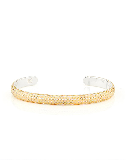 Dome Cuff - Gold Plated