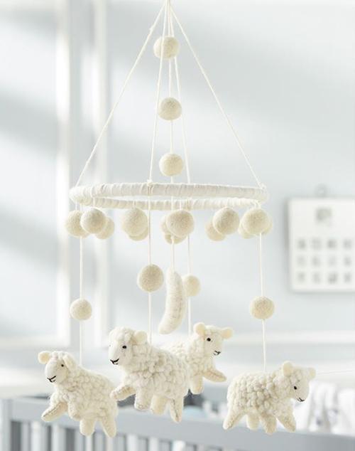 Wool Lamb Mobile