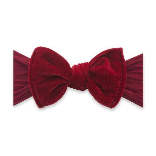 Velvet Knot Headband - Ruby