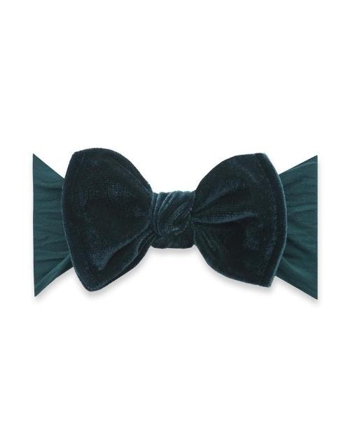 Velvet Knot Headband - Pine
