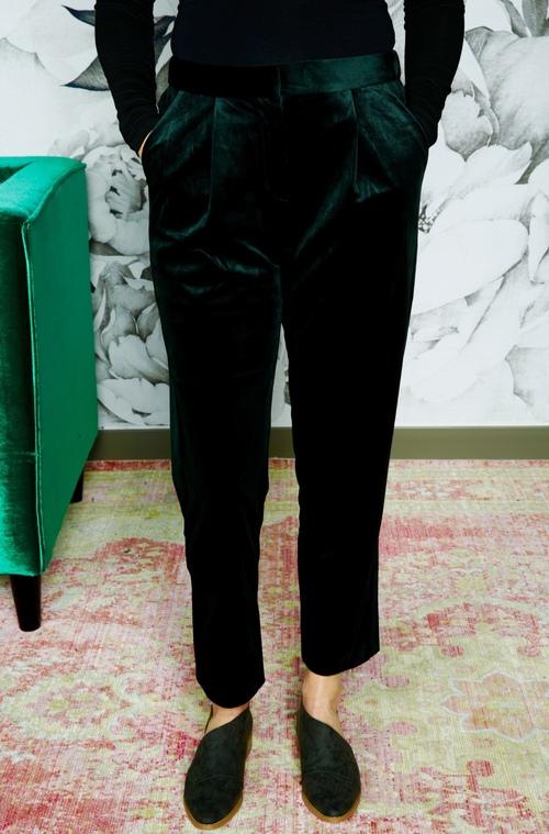 Velvet Peline Pants