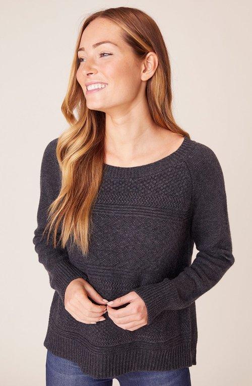 One Split Wonder Crew Sweater