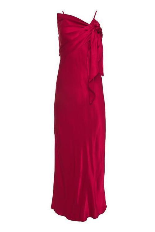 Haley Long Slip Dress