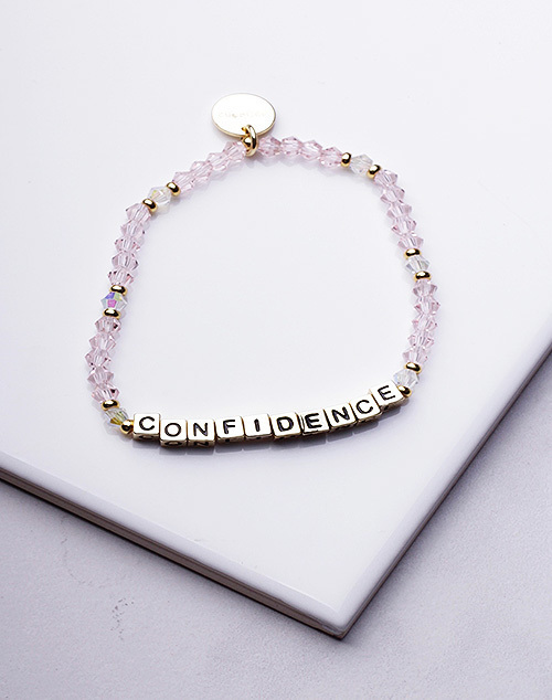 Little Words Project - Confidence Bracelet Gold