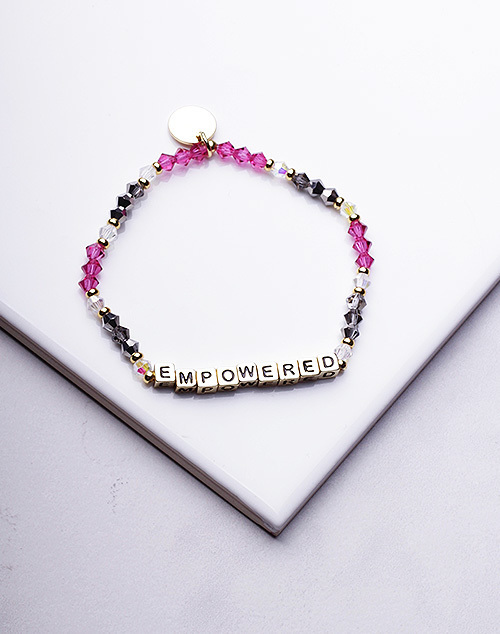 Little Words Project - Empowered Bracelet Gold