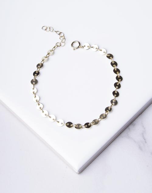 Disc Link Bracelet
