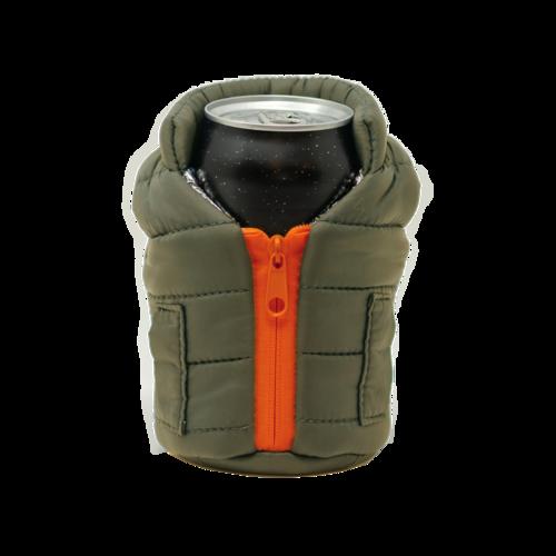 Green & Orange Beverage Vest