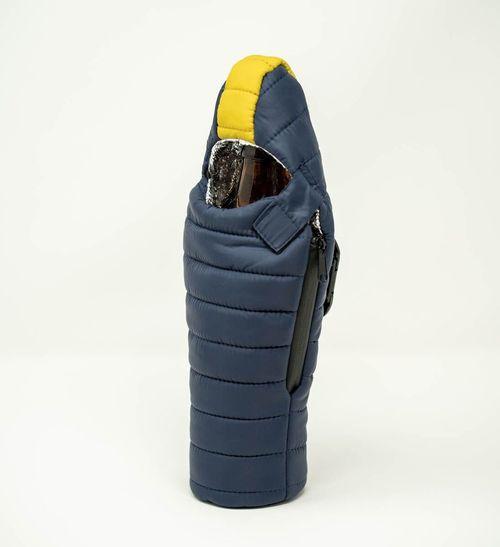 Blue & Gold Bottle Sleeping Bag