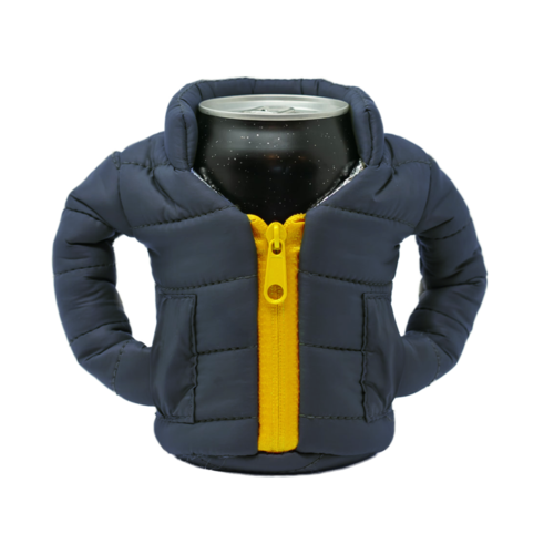 Blue & Gold Beverage Jacket