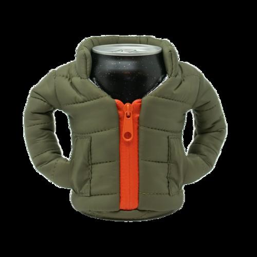 Green & Orange Beverage Jacket