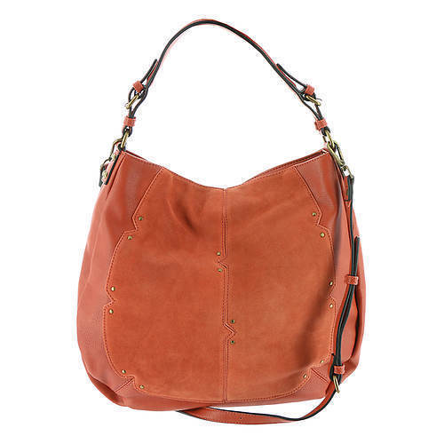 Jolie Rust Hobo Bag