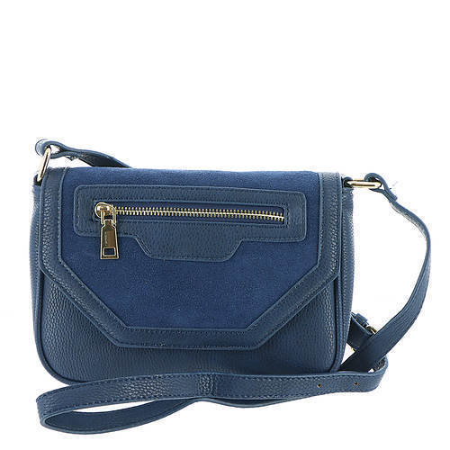Hallie Navy Crossbody Clutch