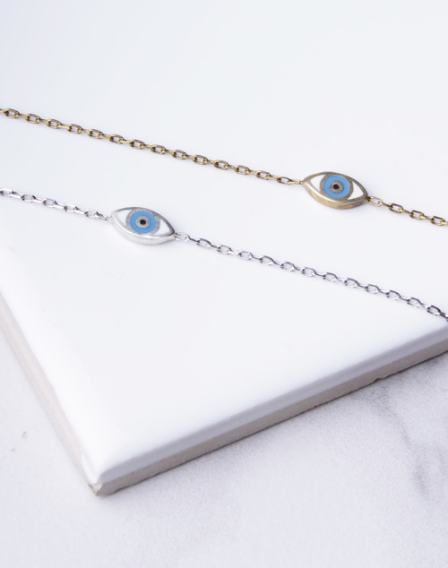 Evil Eye Turq Bracelet