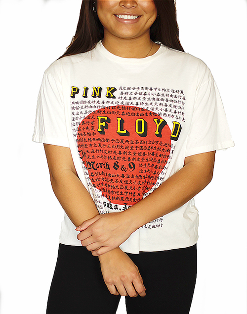 Pink Floyd Japan Cut Off T Shirt