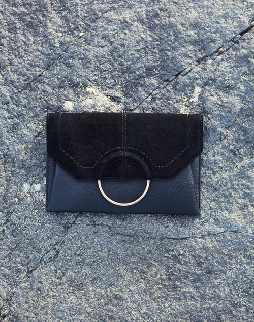 Gwen Clutch Bag - Black