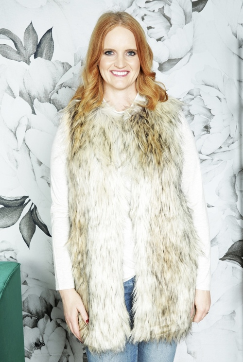 Fur-Ther Ado Faux Fur Vest