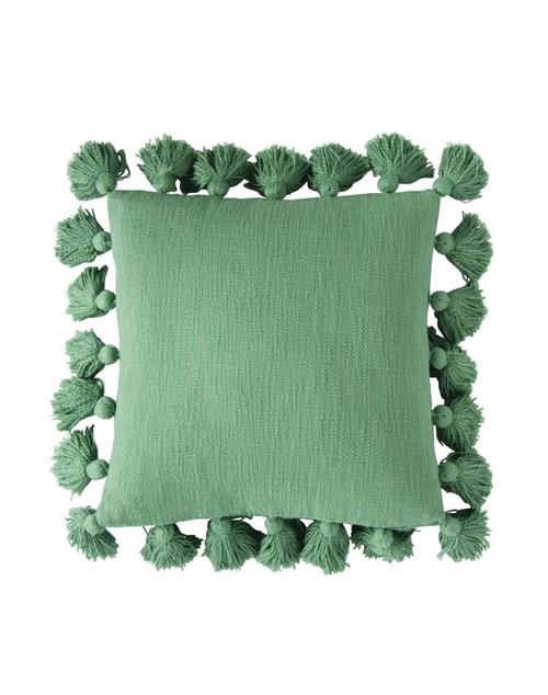 "18"" Square Tassel Pillow"