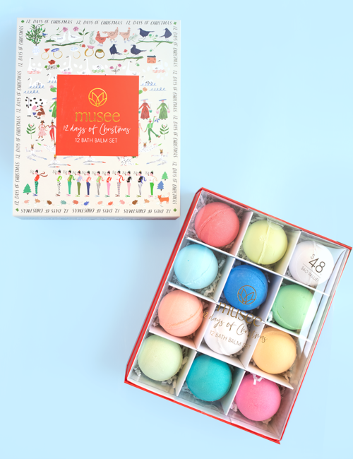 Twelve Days of Christmas Bath Balm Set