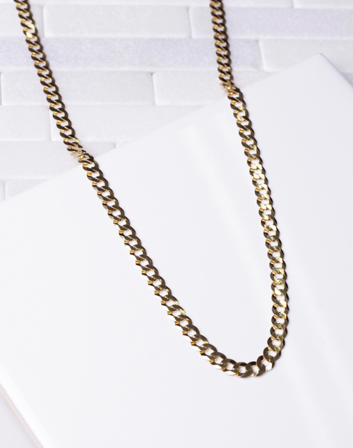 Chain Link Thick Necklace