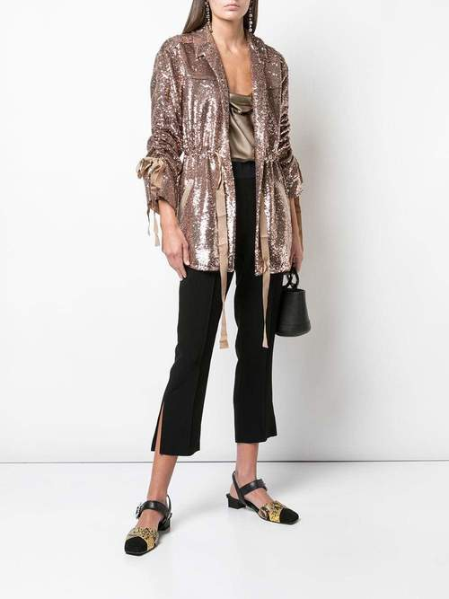 Sequin Mathieu Jacket