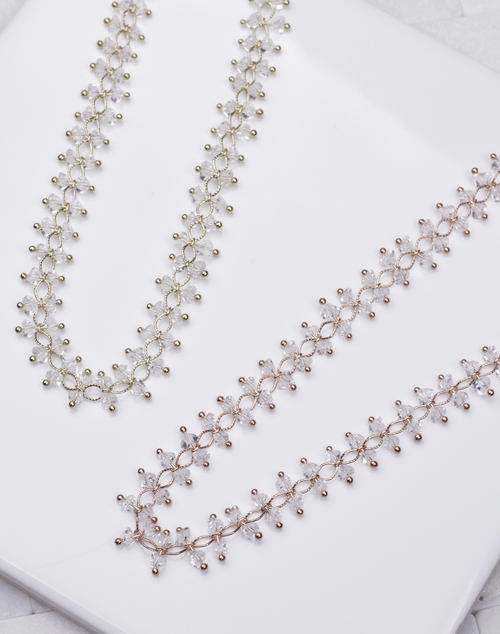 Crystal Braided Choker