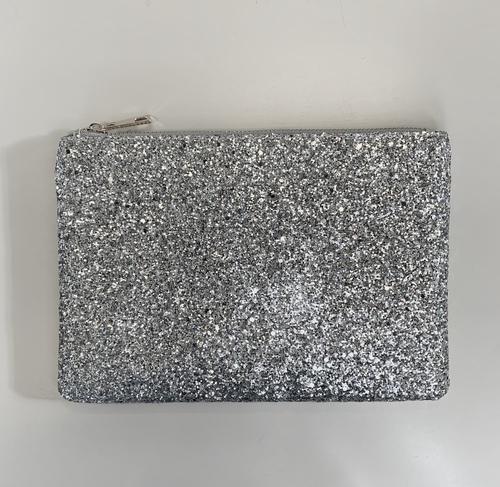 Silver Sparkle Pouch