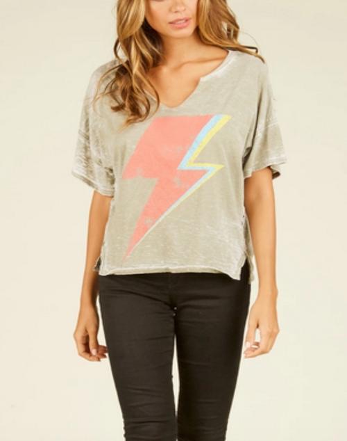 Lightning Bolt Graphie T Shirt