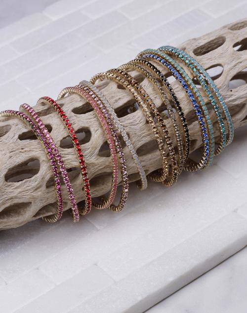 CZ Stretch Bracelet