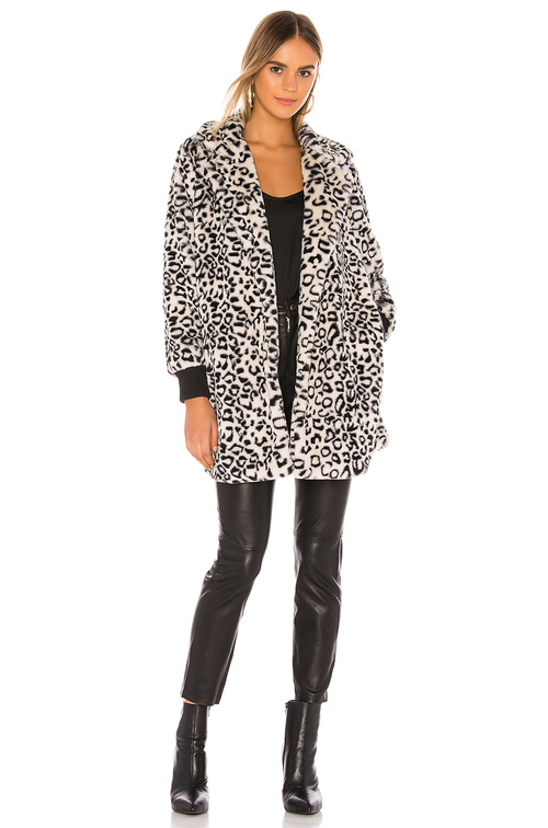 Top Cat Animal Print Coat
