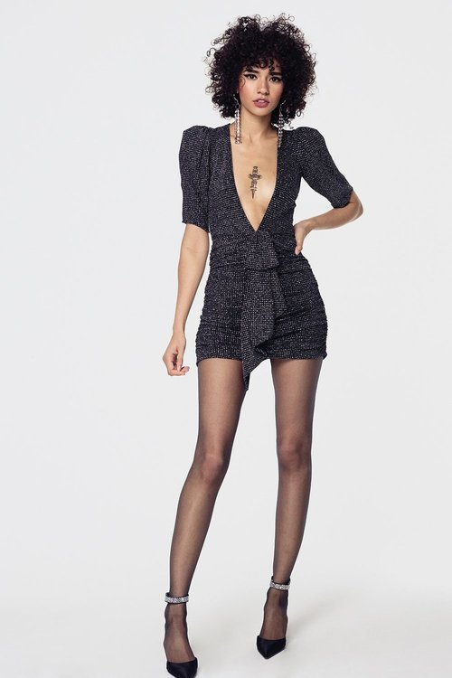 Margaux Glitter Mini Dress