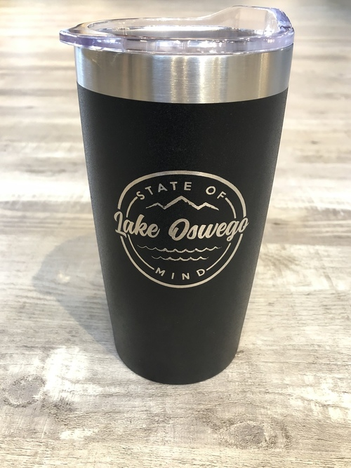 LO State Of Mind Tall Tumbler Black