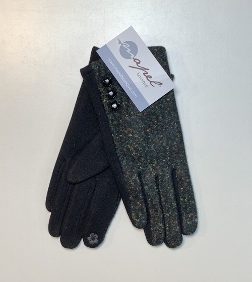 Black W/ Color Confetti Smart Touch Glove