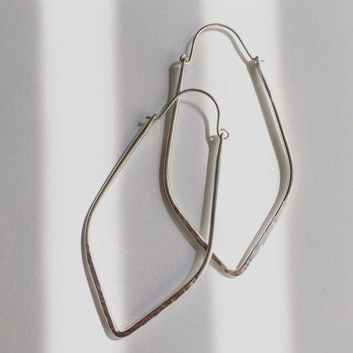 Agapantha Elyse Sterling Silver Earrings