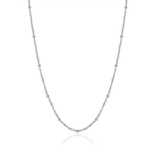 "Agapantha Leia Astral 18"" Sterling Silver Chain"