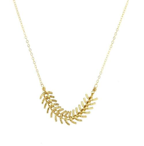 Agapantha Gold Fill Melissa Necklace