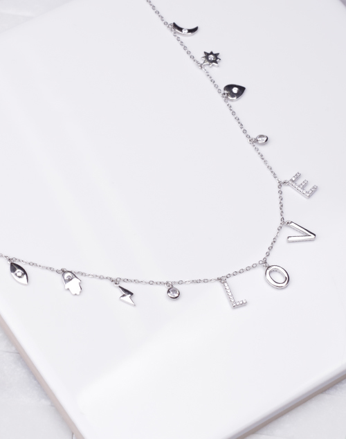 Lucky In Love Charm Necklace
